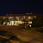 night view of the main resort (check in)