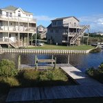 View from the deck at Kite Club Hatteras