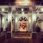 Entrance to Royal Swazi Spa