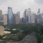 Makati Central Business District view