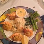 Dinner / stuffed shrimp