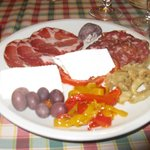 An Example of a La Palombara Antipasto