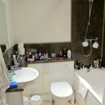 spotless clean bathroom-