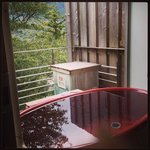 outdoor private onsen experience
