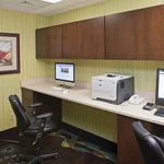 Stay connected with complimentary access to our business center.