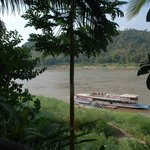 View of the Mekong from breakfast