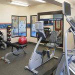 Stick to your normal workout routine with complilmentary access to our fitness center.