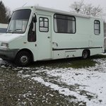 Our motorhome the day we left 10/03/2013