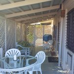 deck area right out of living room