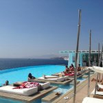 Pool Lounges and  incredible view