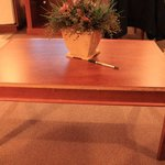 trim missing from coffee table