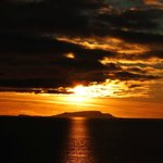 Sunset from Elgol harbour