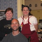 Brant, Chef Mary at Captain Wohlt Inn