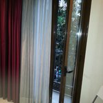 Bedroom balcony doors