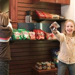 Children Purchasing Snacks from the Suite Shop