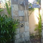 Outdoor Shower (its heated!)