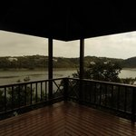 View from the verandah across Bushman's River