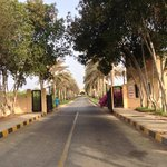 View entering the grounds of Al Sawadi Beach Resort