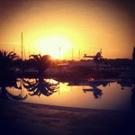 Sani Asterias Suites - dawn at pool