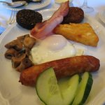 The best Black & White pudding on the island!