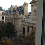 Sorbonne seen from the room