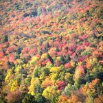 Peak season at Smugglers notch- first week Oct.
