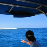 checking the surf at Cloudbreak