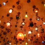 Beautiful Lantern Ceiling in the Kybele Hotel
