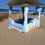 4 Poster bed on beach