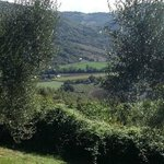 The Valley below Borgo Bastia Creti -- part of a 360 degree view