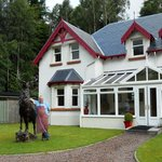 Glen Albyn Lodge Invergarry Bed and Breakfast Foto