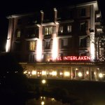 Interlaken - Hotel Interlaken by night