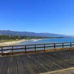 Santa Barbara pier and waterfront.