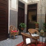 The beautiful details of the Riad