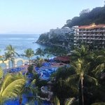 view from our balcony. Barcelo Puerto Vallarta