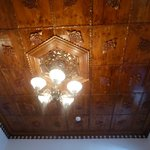New room ceiling with antique look