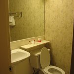 Hotel Room bathroom - sink & toilet