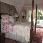 One of the beautifully decorated rooms
