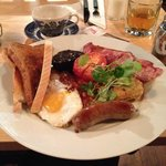 Full English Breakfast, delicious!