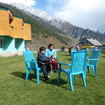 At Hotel Sonmarg Glacier