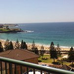 View of Coogee from the room