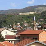 Prizren city view from our room