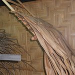 Tahitian Museum: thatched roof from house