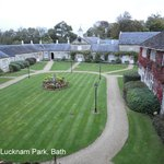 Lucknam Park - Vista do quarto