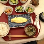 Amazing Japanese breakfast! I went for egg, my girlfriend had the fish - which she loved.