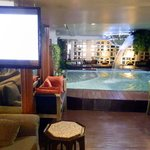 Pool in the Lobby