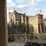 Gravensteen Castle...view from room