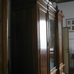 Armoire in double room