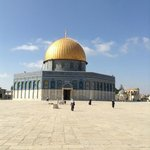 Close to Dome of the Rock
