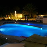 Pool at the night